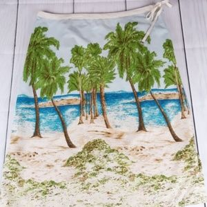 Liz Claiborne Summer Print Skirt size 12